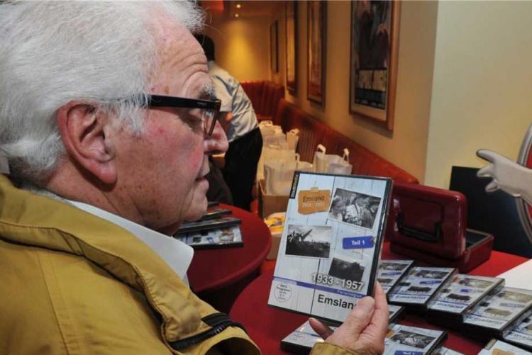 Der 91-jährige Meppener Franz Hornung ist ein wichtiger Zeitzeuge für die DVD: Emsland: Foto: Hermann-Josef Mammes